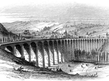 Barentin Viaduct Paris