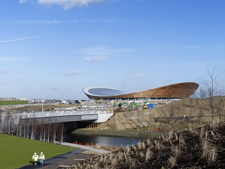 Completed London 2012 Olympic Velodrome