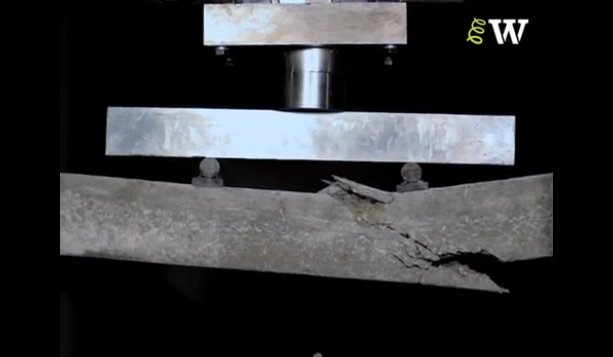 Bending Failure of an Over-Reinforced Concrete beam