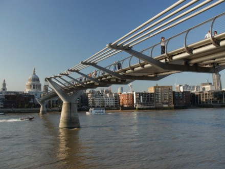 Wide Image - Millenium Bridge